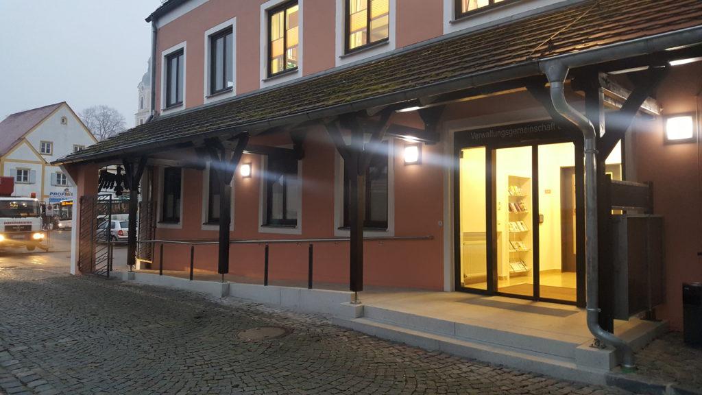 Barrierefreier Zugang ins Rathaus